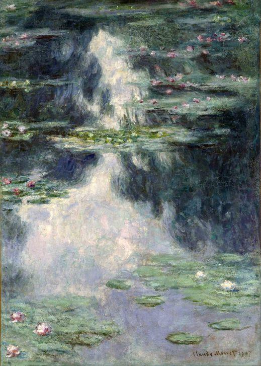 Claude Monet, Ponte con ninfee.