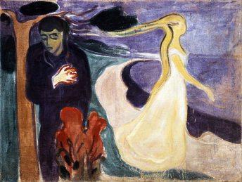 Edvard Munch, Separazione.