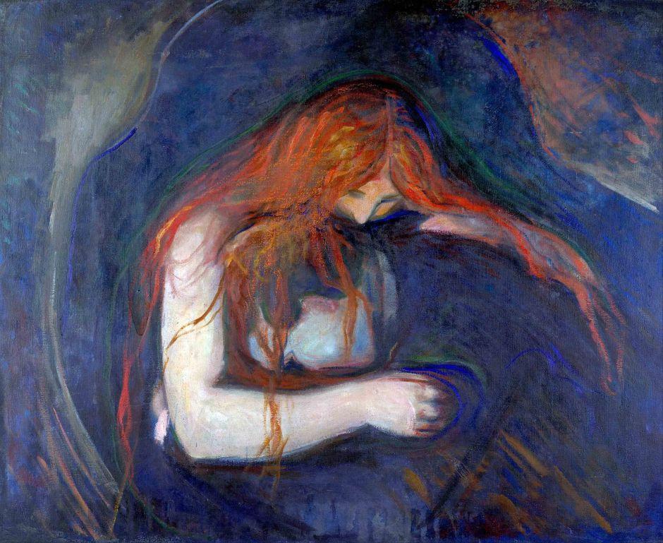 Edvard Munch, Vampiro.