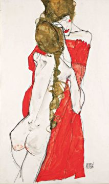 Egon Schiele, Madre e figlia