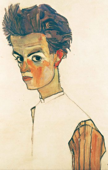 Egon_Schiele Self-Portrait