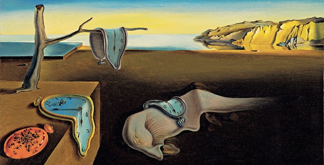 Salvador Dalì, La persistenza della memoria.