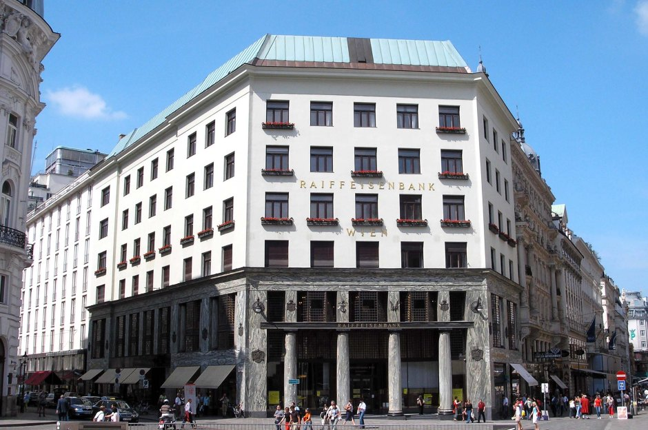 Adolf Loos, Looshaus in Michaelerplatz.