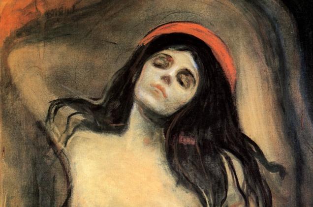Edvard Munch, Madonna.