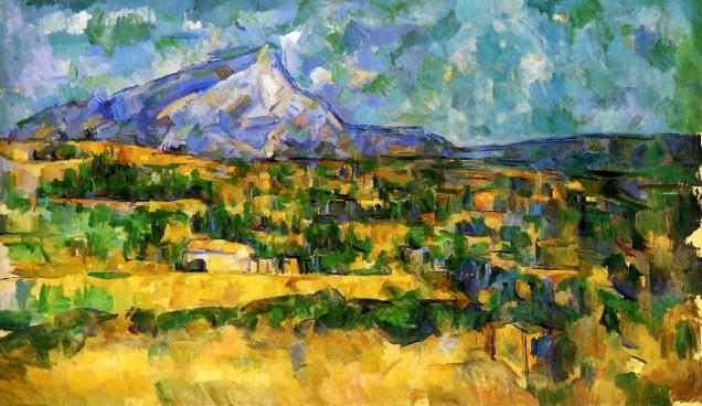 Paul Cézanne, Mont Sainte Victoire.