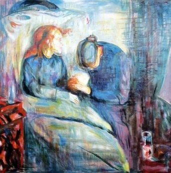 Edvard Munch, Ragazza malata