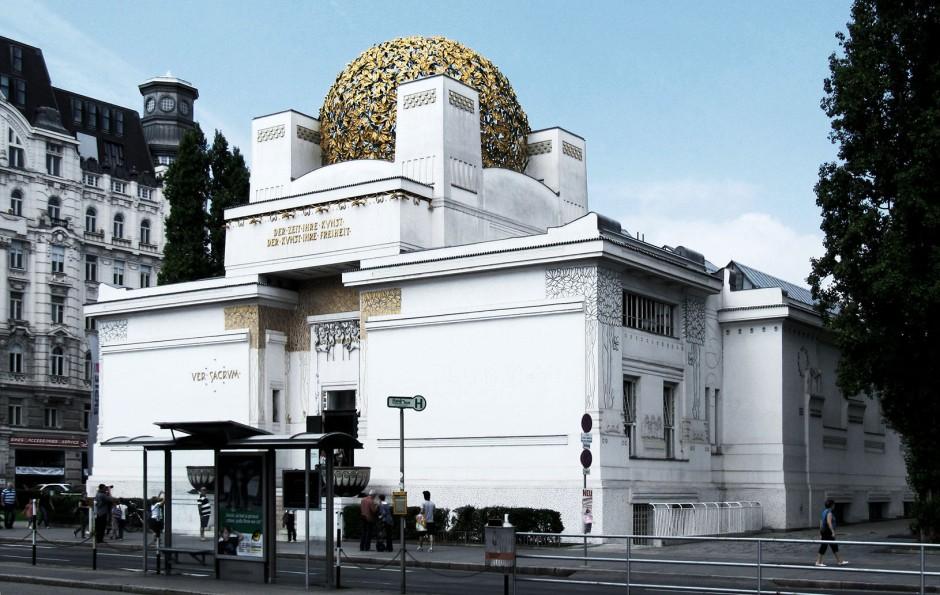 J. M. Olbrich, il Palazzo della Secessione a Vienna.