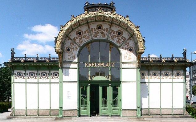 Otto Wagner, Karlsplatz pavillon