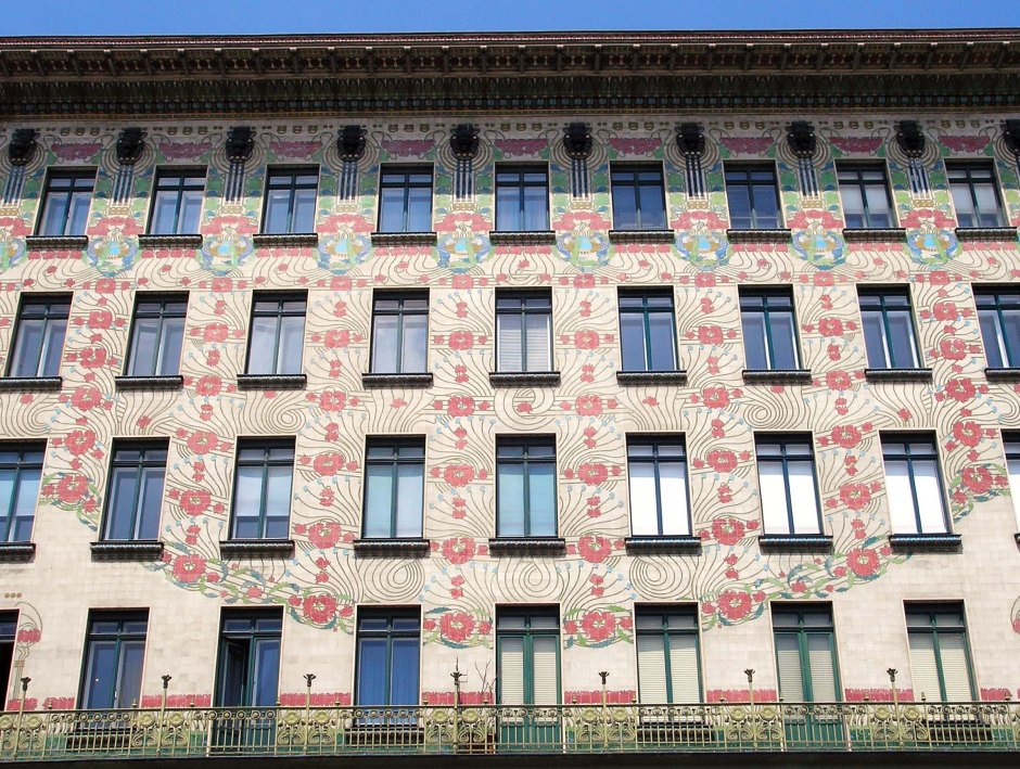 Otto Wagner, Majolica Haus.