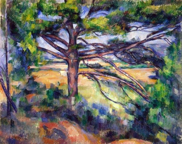Paul Cézanne, albero.