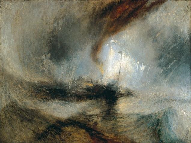 J. M. W. Turner, Snow storm.