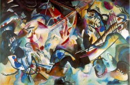 Vassily Kandinskij, Composition 6.