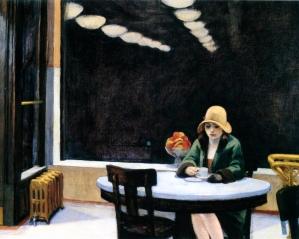 Edward Hopper, Automat.