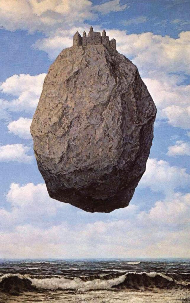 René Magritte, il castello dei Pirenei.i.