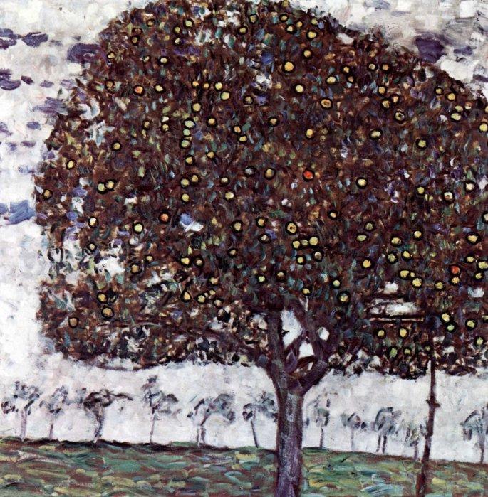 Gustav Klimt, albero di mele.