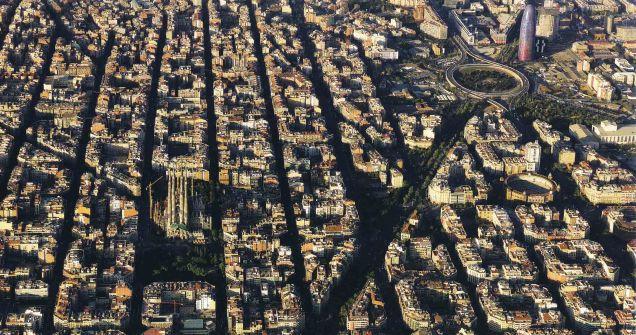Barcellona, il piano di ampliamento di Ildefonso Cerdà.