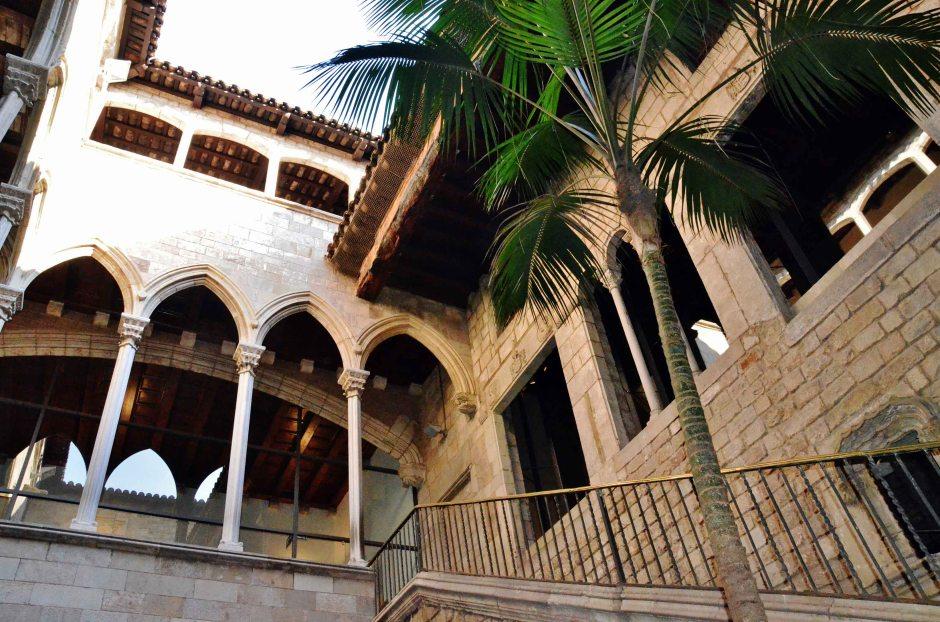 Barcellona, Barrio gotico: il museo Picasso.