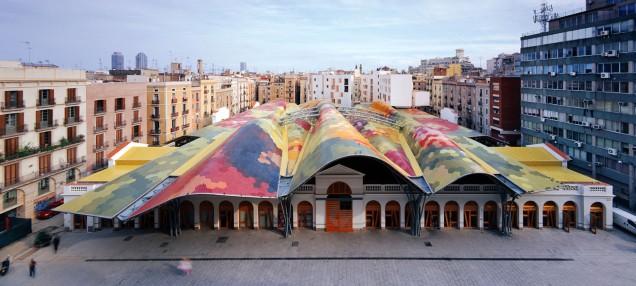 Il mercato di Santa Caterina.