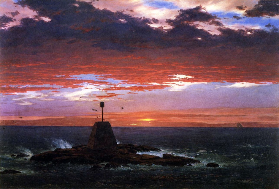 Frederic Edwin Church, Segnale luminoso di Mount Desert.