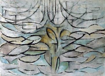 Piet Mondrian, melo in fiore.
