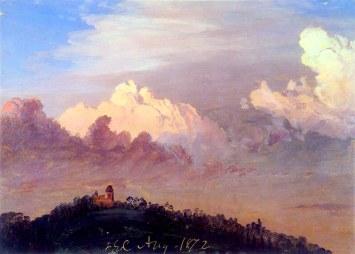 Frederic Edwin Church, Nuvole sopra Olana.