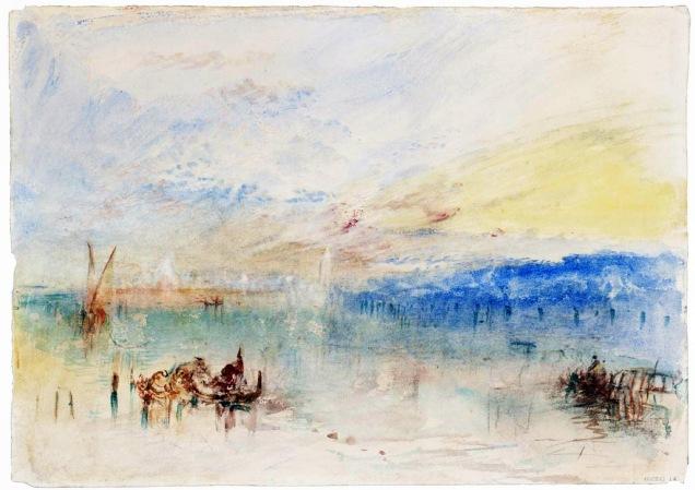 J. M. W. Turner, Arrivo a Venezia.