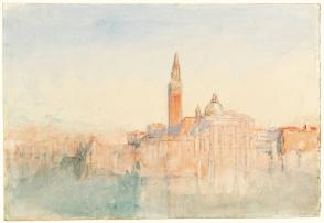 J. M. W. Turner, Venezia: San Giorgio maggiore.