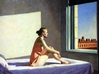 Edward Hopper, Morning sun.