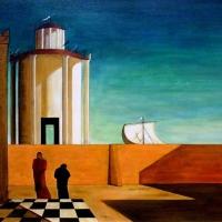 Giorgio de Chirico e la sua incredibile maniera di dipingere l'Italia