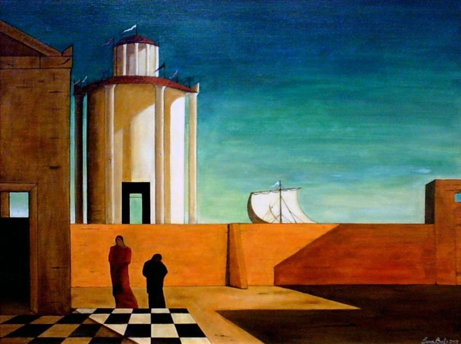 Giorgio De Chirico, L'enigma dell'arrivo