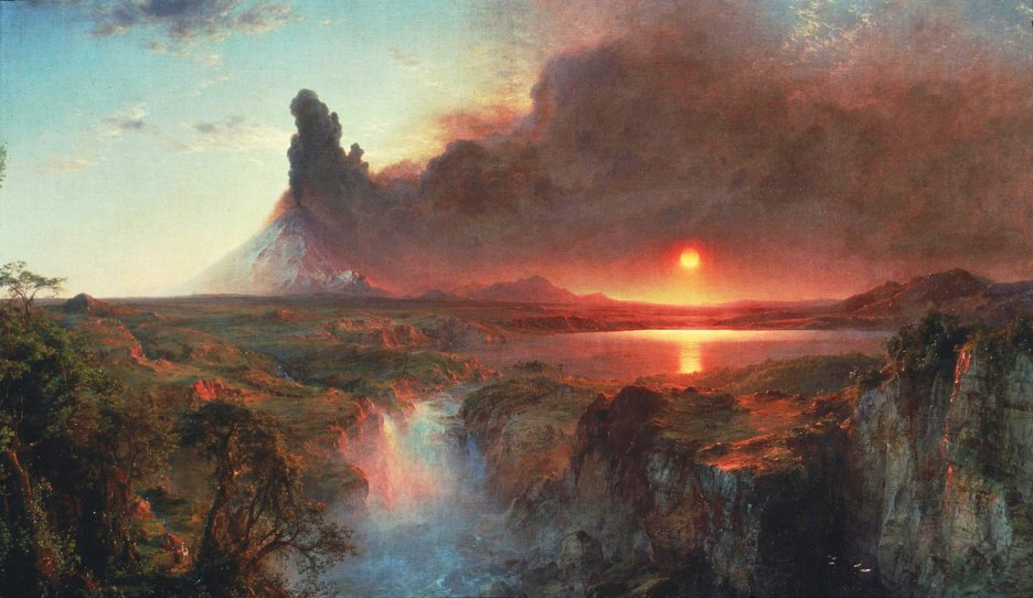 Frederic Edwin Church, Cotopaxi.