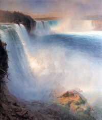 Frederic Edwin Church, Cascate del Niagara (lato americano).
