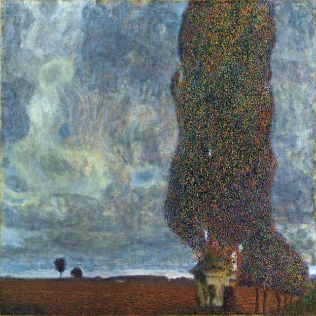 Gustav Klimt, tempesta in arrivo.