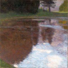 Gustav Klimt, tranquil Pond.