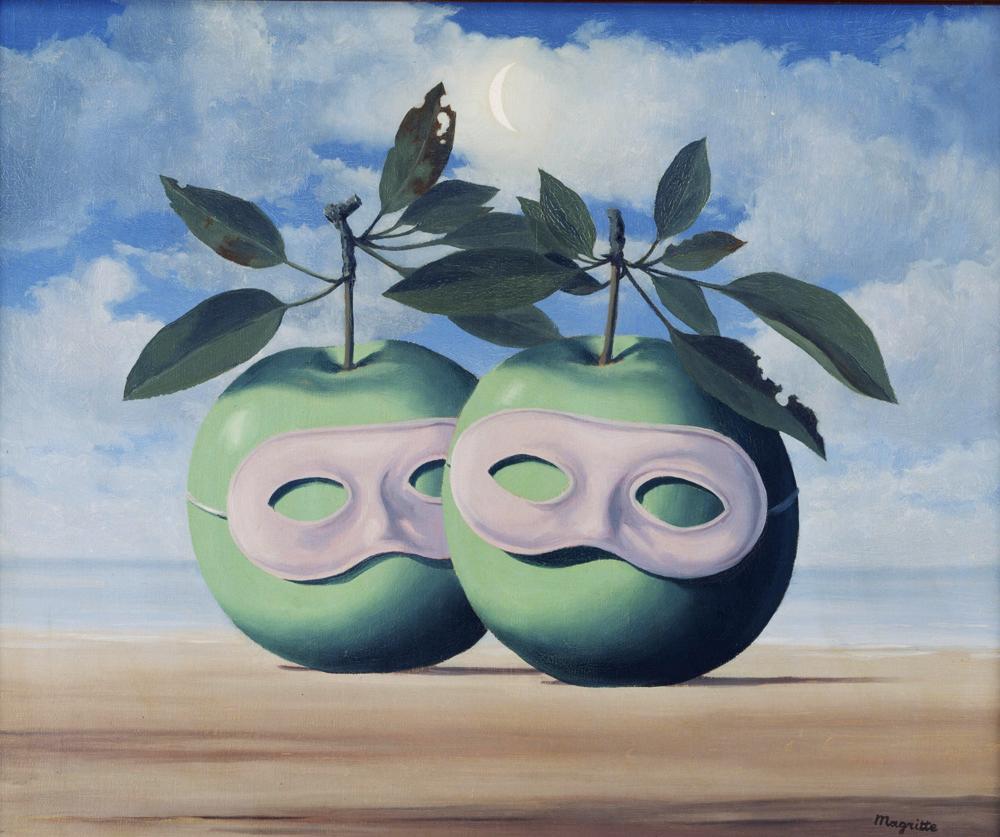 Surrealismo la sottile linea d 39 ombra - Falso specchio magritte ...