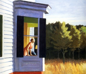 Edward Hopper, Cape cod morning.