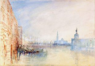 J. M. W. T., Venice at the mouth of the grand canal.