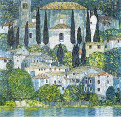 Gustav Klimt, Kirche in Cassone.