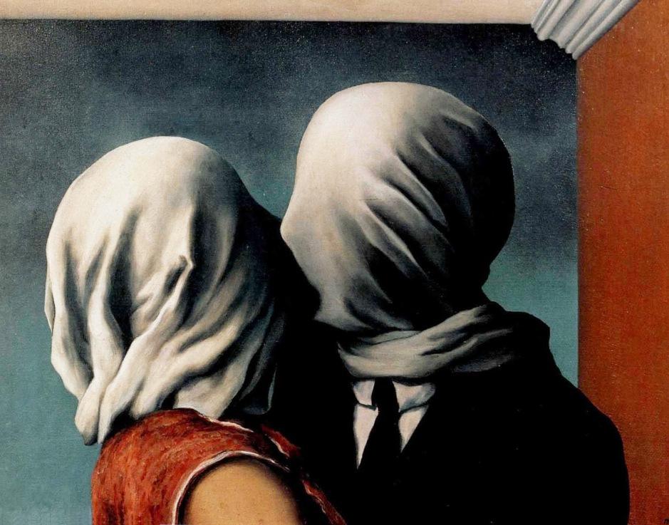 René Magritte, gli amanti.