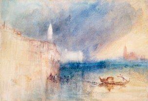 J. M. W. T., Venice, storm.