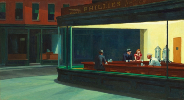 Edward Hopper, Nighthawks.