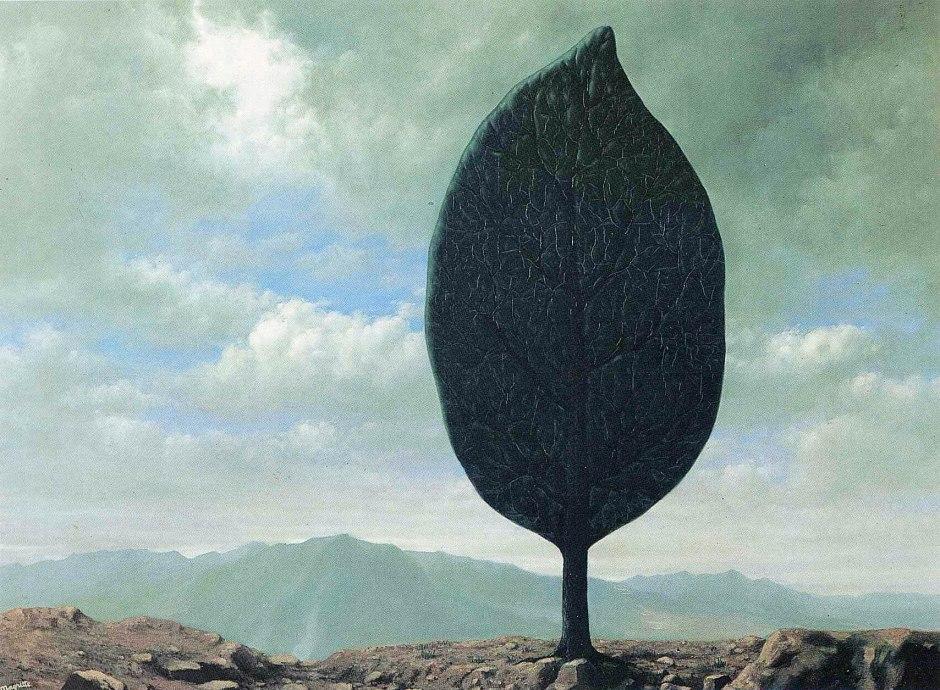 René Magritte, Pieno d'aria.