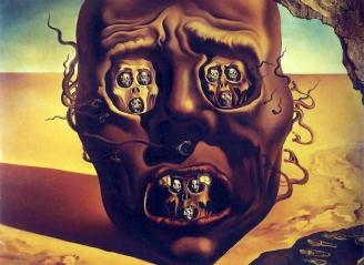 Salvador Dalì, Il volto della guerra.