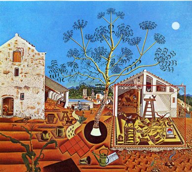 Joan Mirò, the farm.