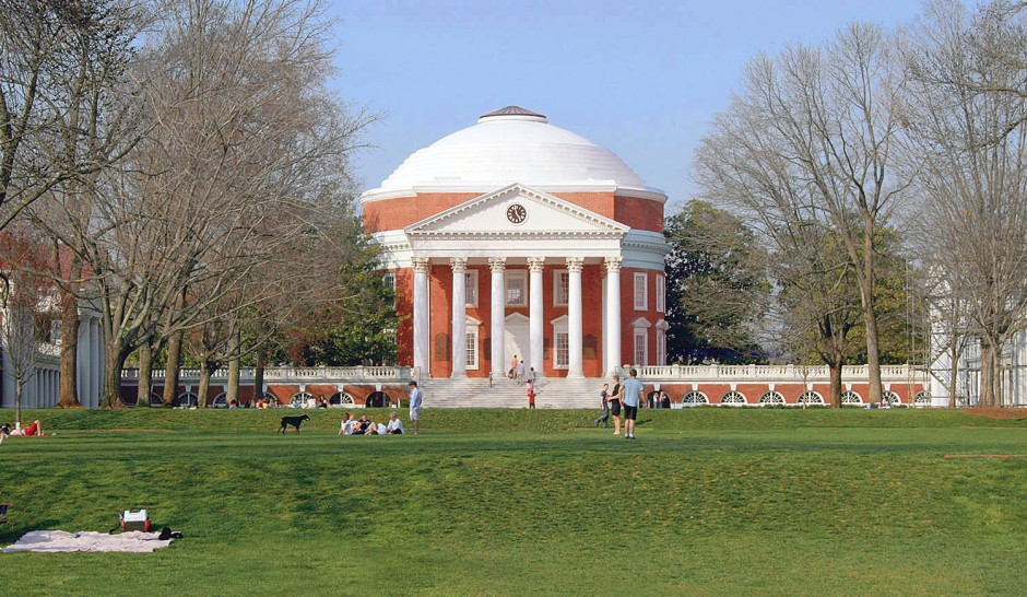 Thomas Jefferson, Università della Virginia, 1822-1826.