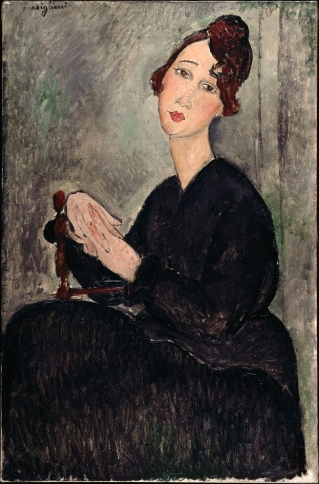 Amedeo Modigliani, Ritratto di Dédie.