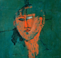 Amedeo Modigliani, Testa rossa.