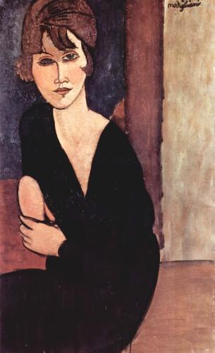 Amedeo Modigliani, ritratto.