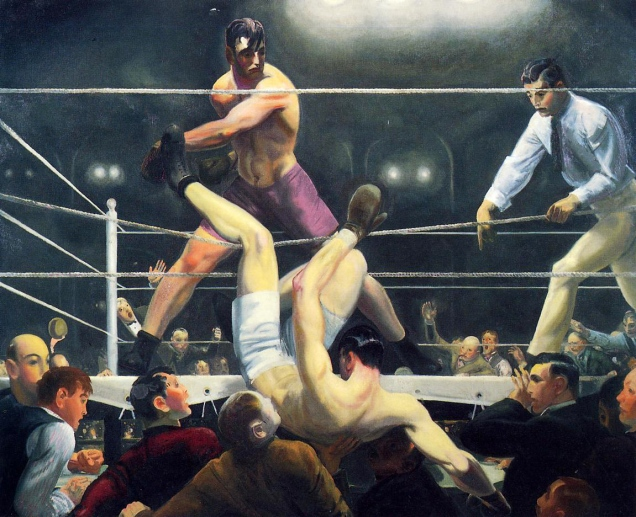 George Bellows, Dempsey and Firpo.