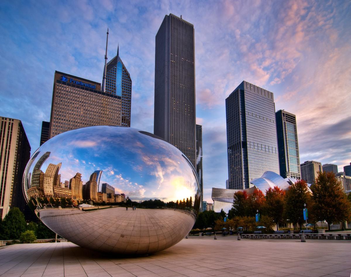 Chicago tra grattacieli expo e case nella prateria le for Piani domestici della prateria contemporanea